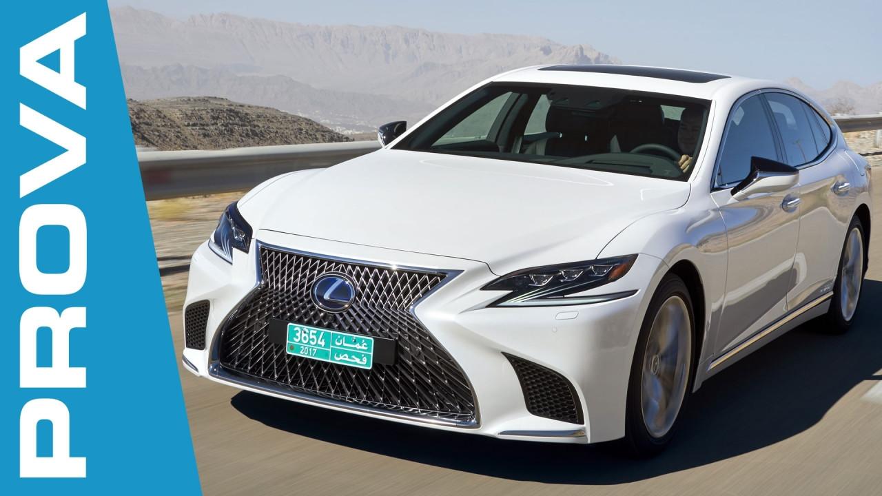 [Copertina] - Lexus LS Hybrid, l'orgoglio giapponese