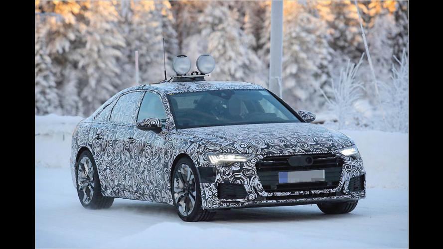 Neuer Audi A6 (2018) als Erlkönig