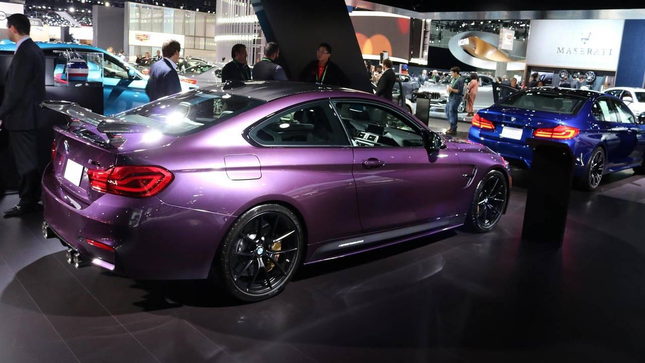 Eggplant BMW M4 LA Auto Show Live