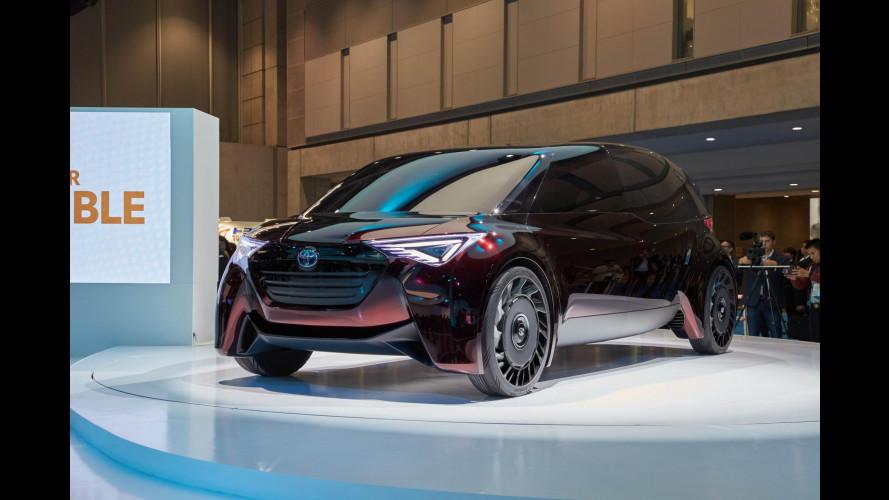Toyota Fine-Comfort Ride, il superprototipo a idrogeno