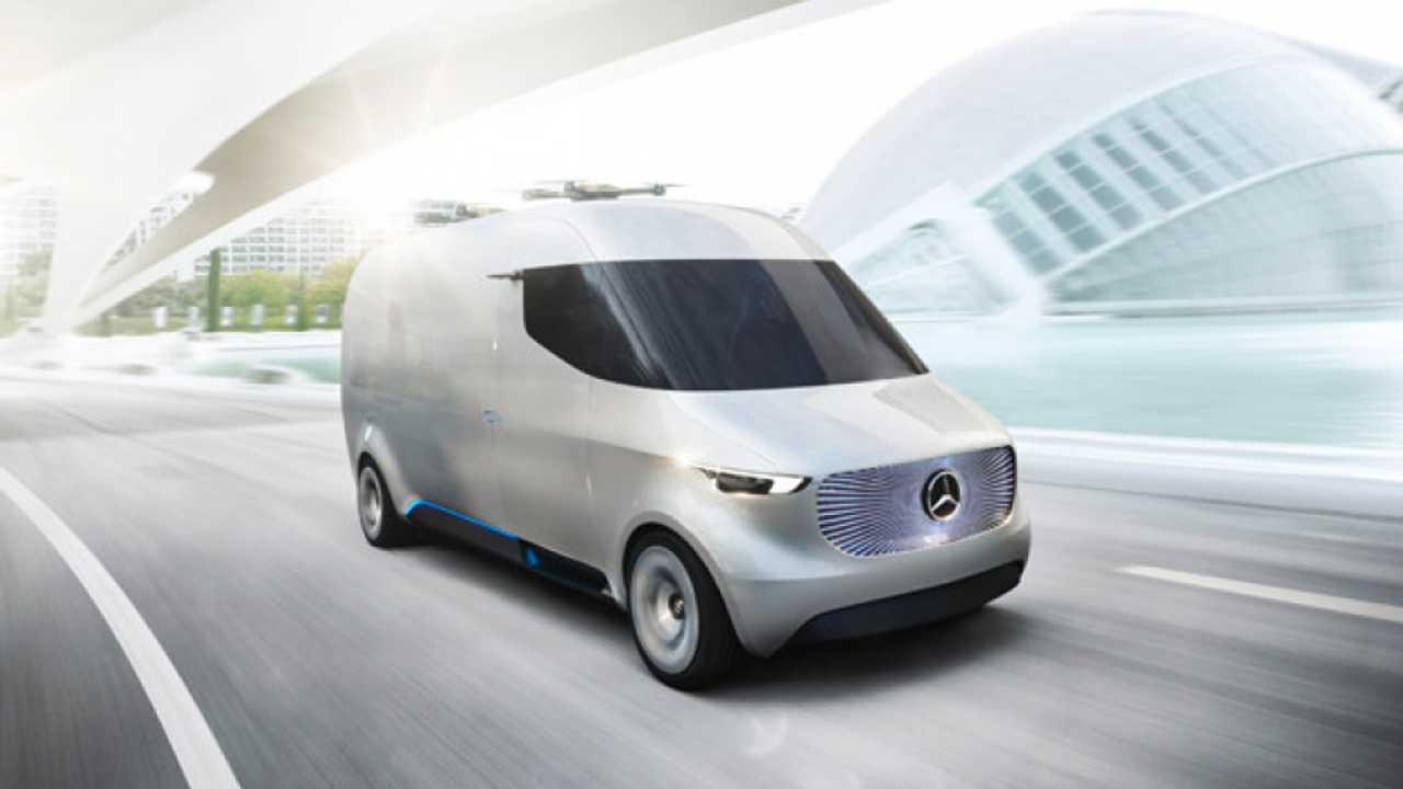 Mercedes Vision Van, il futuro del Van