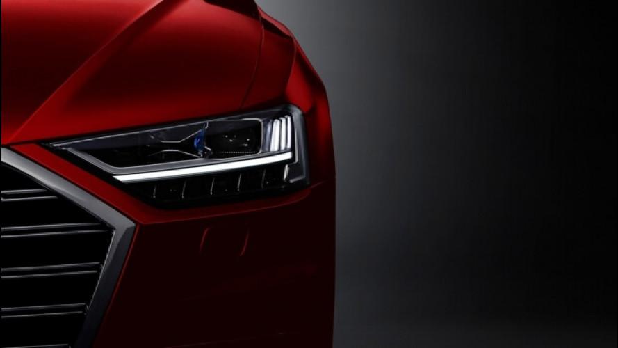 Nuova Audi A8, tutto quello che sappiamo a poche ore dal debutto
