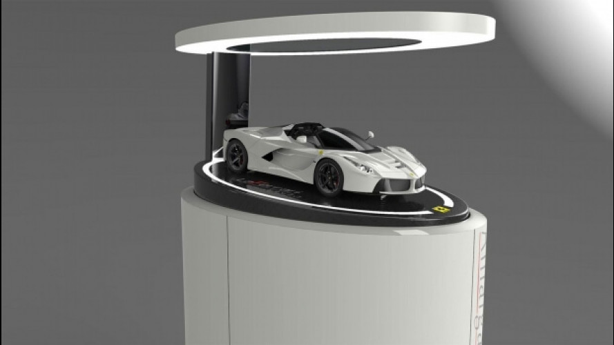 LaFerrari Aperta, il modellino in scala 1:8 costa oltre 10.000 euro