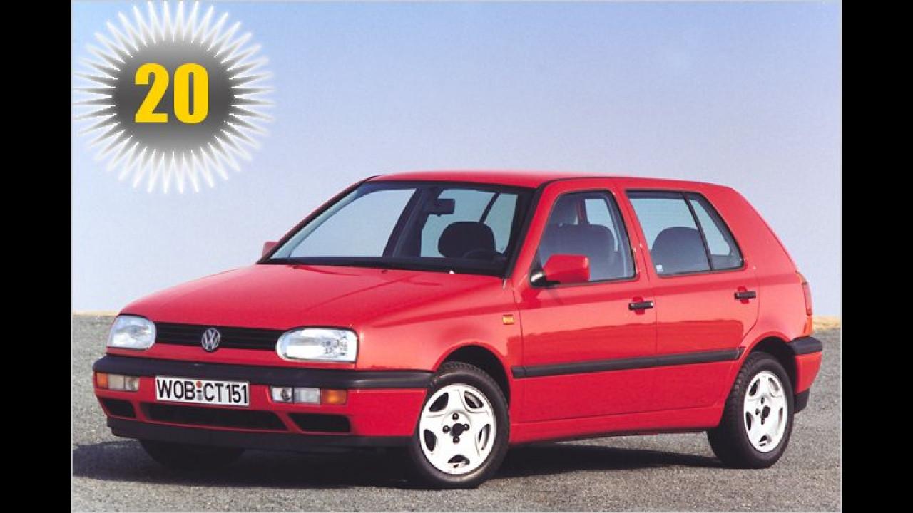 20 Jahre VW Golf III