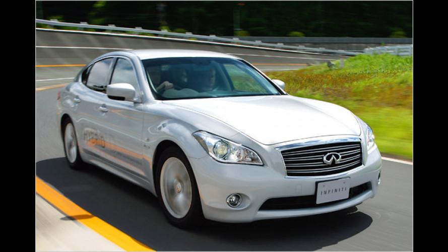 Luxus-Hybrid: Das kostet der Infiniti M35h