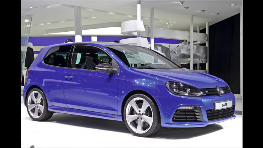 Autosalon Genf 2011: VW Golf R in Sondervarianten