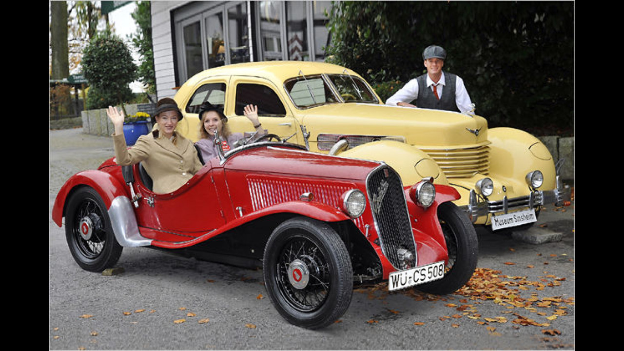 Oldtimer: Cord 812 und Fiat Balilla Coppa d`Oro