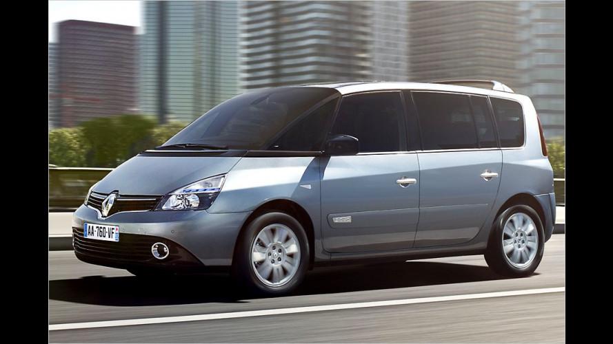 Renault Espace mit kleinem Facelift