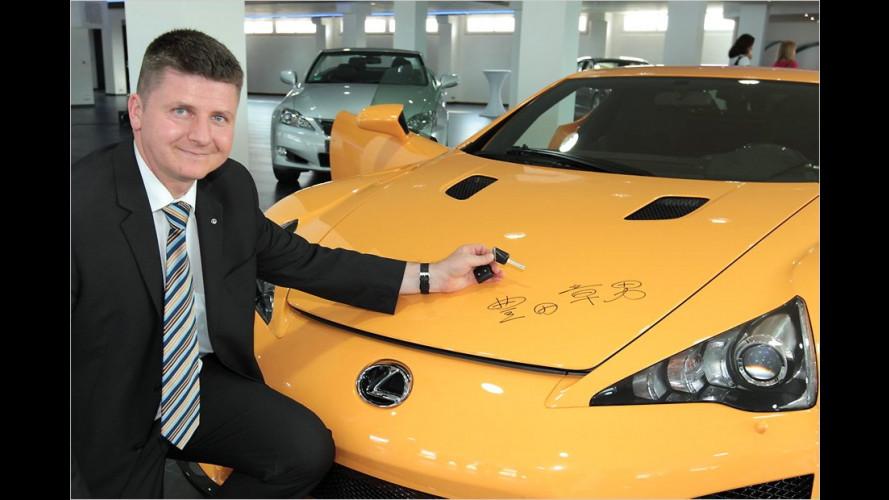 Signiert vom Toyota-CEO