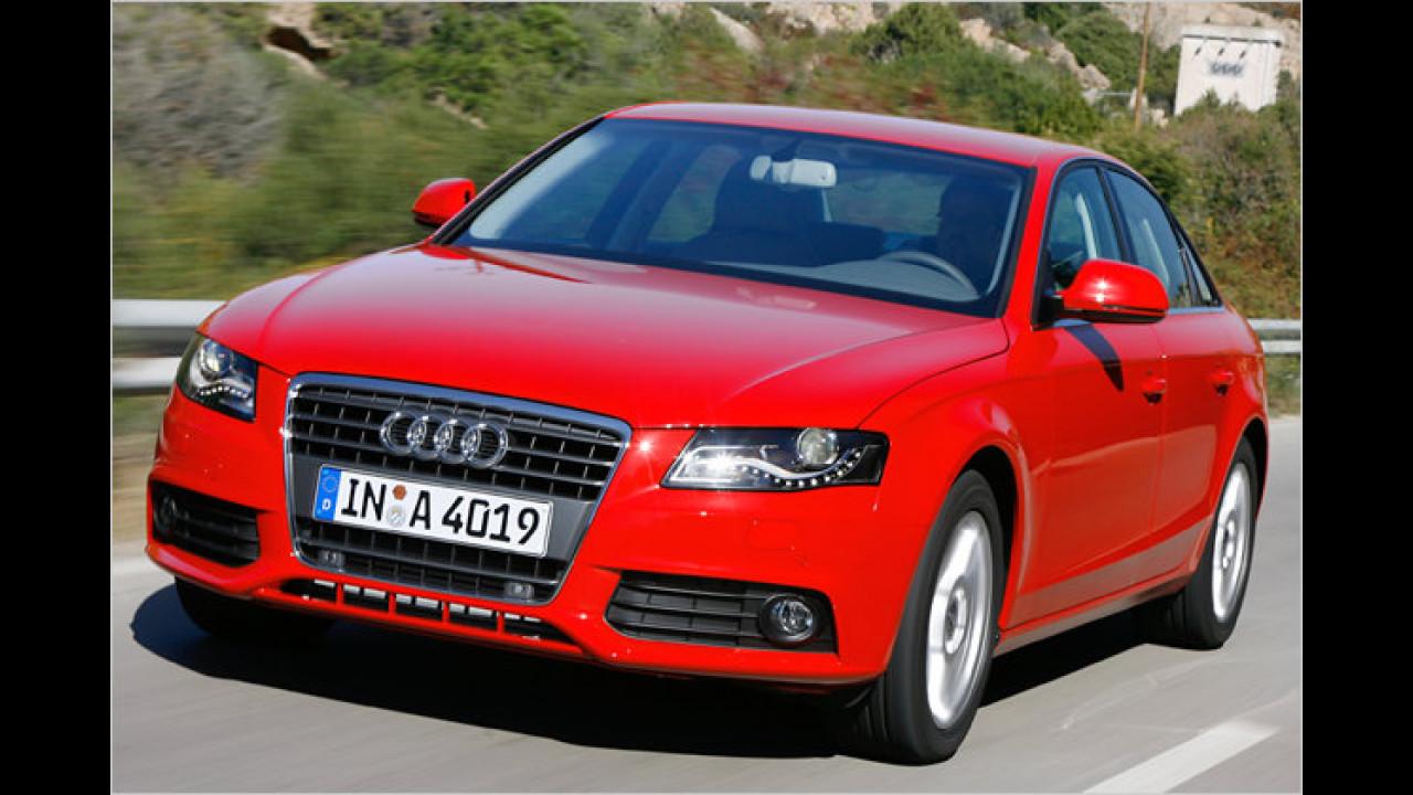 Platz 3 Premium-Mittelklasse: Audi A4