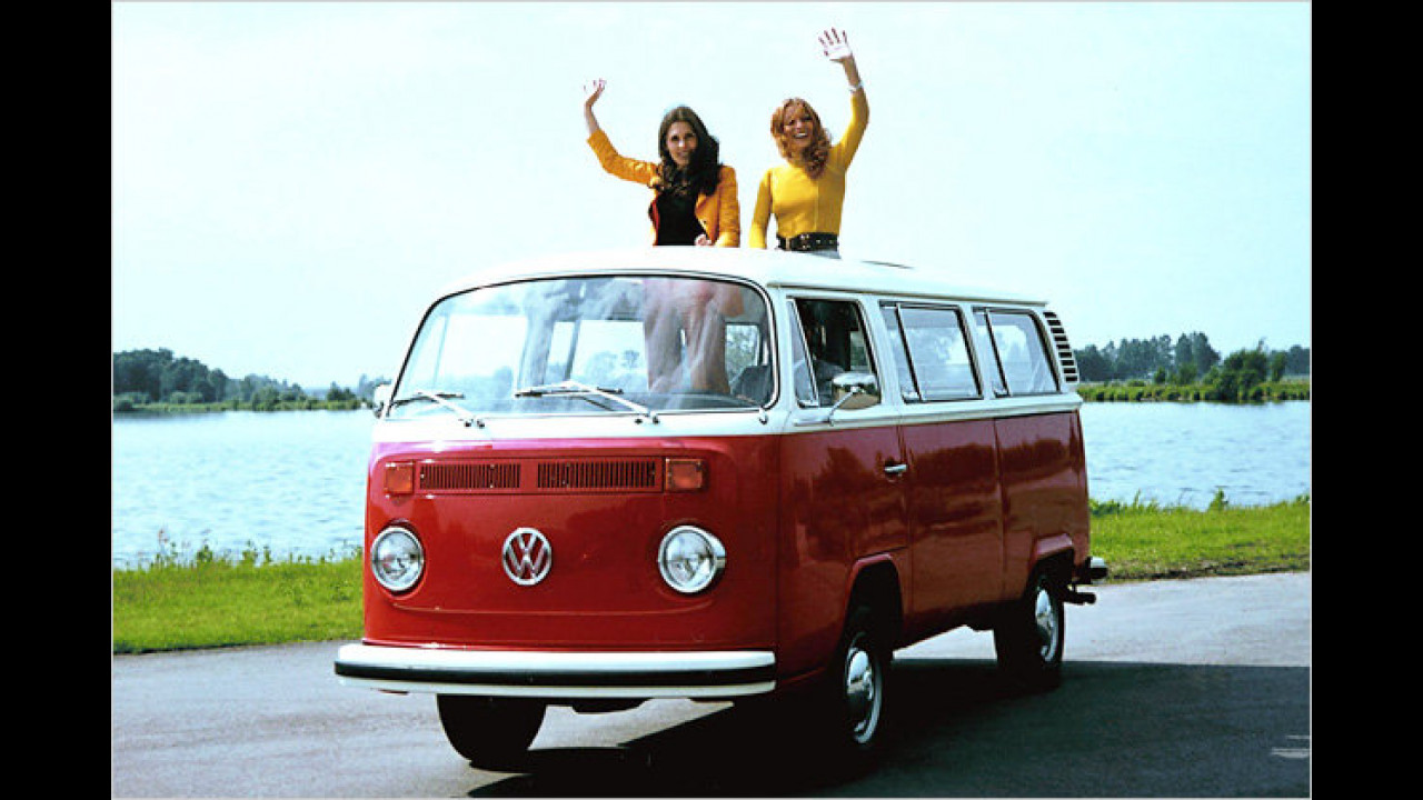 Platz 12: VW Bus und Kasten (Bulli)