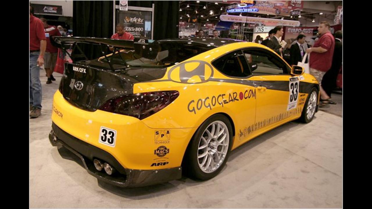 Hyundai Genesis Coupé Gogogear Racing
