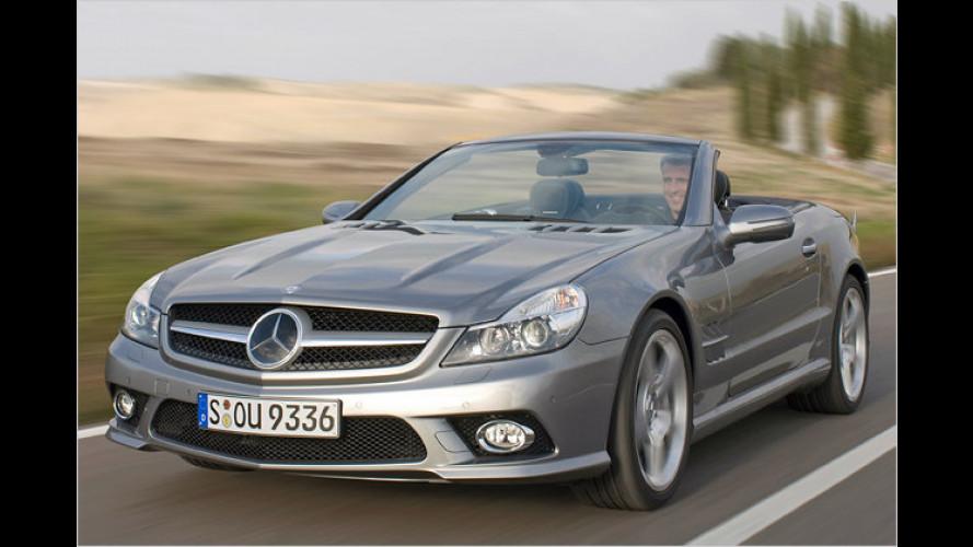 Mercedes SL mit neuem Gesicht: Tradition und Innovation