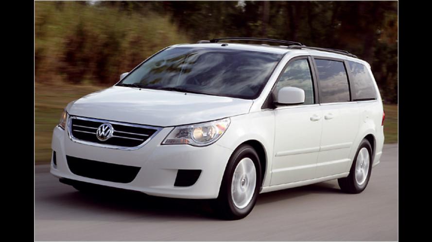 VW Routan: Ein europäischer Amerikaner aus Kanada