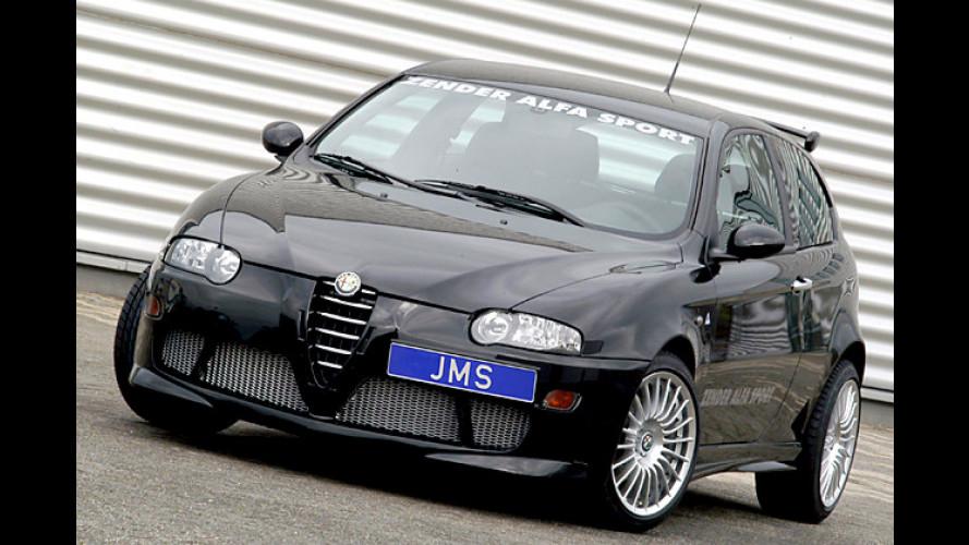 Flotter Racelook von JMS für den Alfa 147 Serie 1 und Serie 2