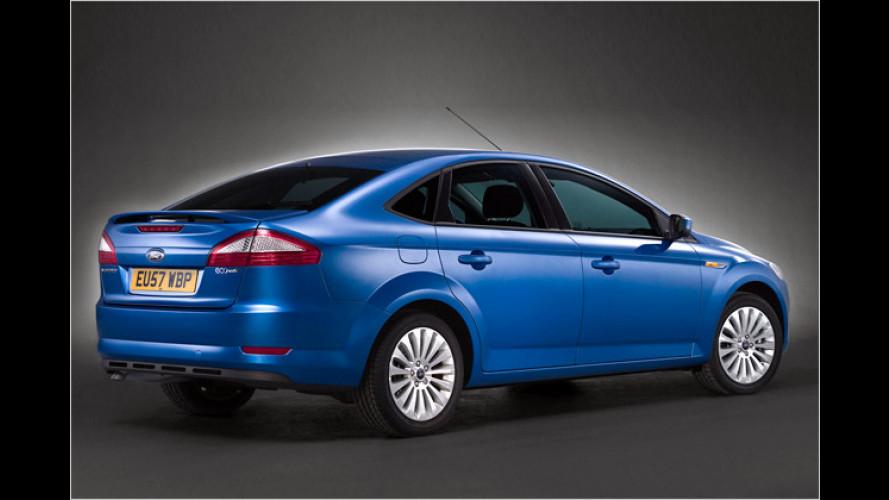 Ford Mondeo ECOnetic: Sprit sparende Diesel-Mittelklasse