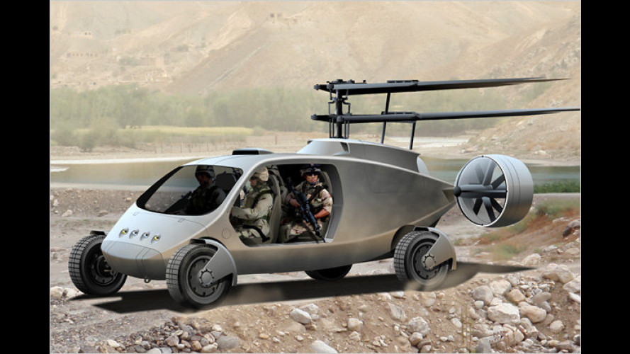 Flugauto für die US-Army vorgestellt