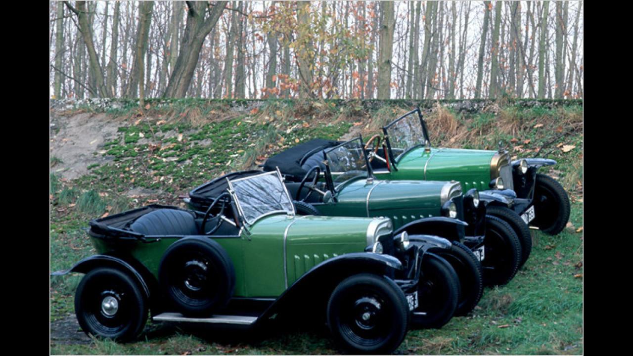 Opel 4/12 PS: ,Laubfrosch