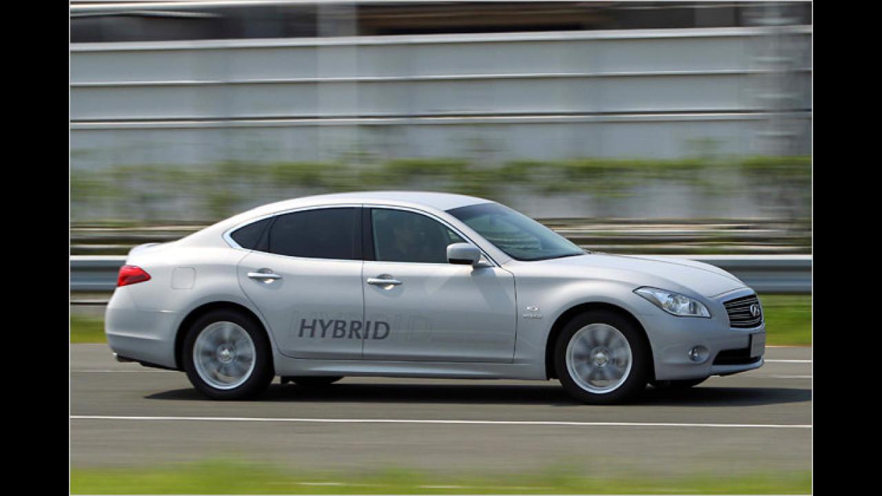 Hybridauto von Infiniti