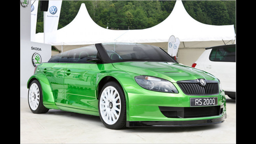 Tschechischer Traum-Roadster: Skoda RS 2000