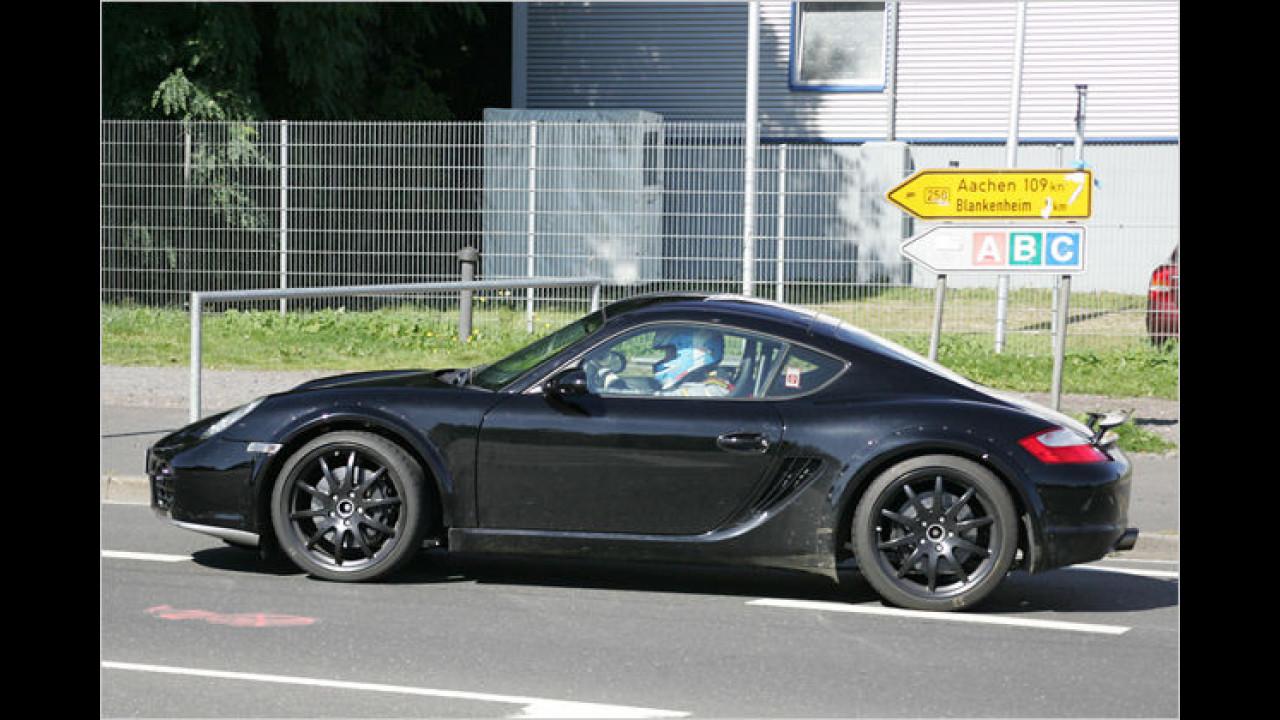 Porsche Cayman Versuchsträger
