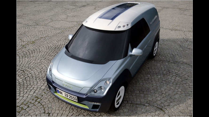 Teamo e-cargo-van: Smarter Elektro-Laster von Hymer