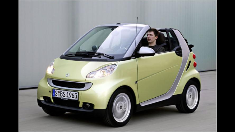 "Grüner Frühlings-Smart: ,Edition Limited Three"""