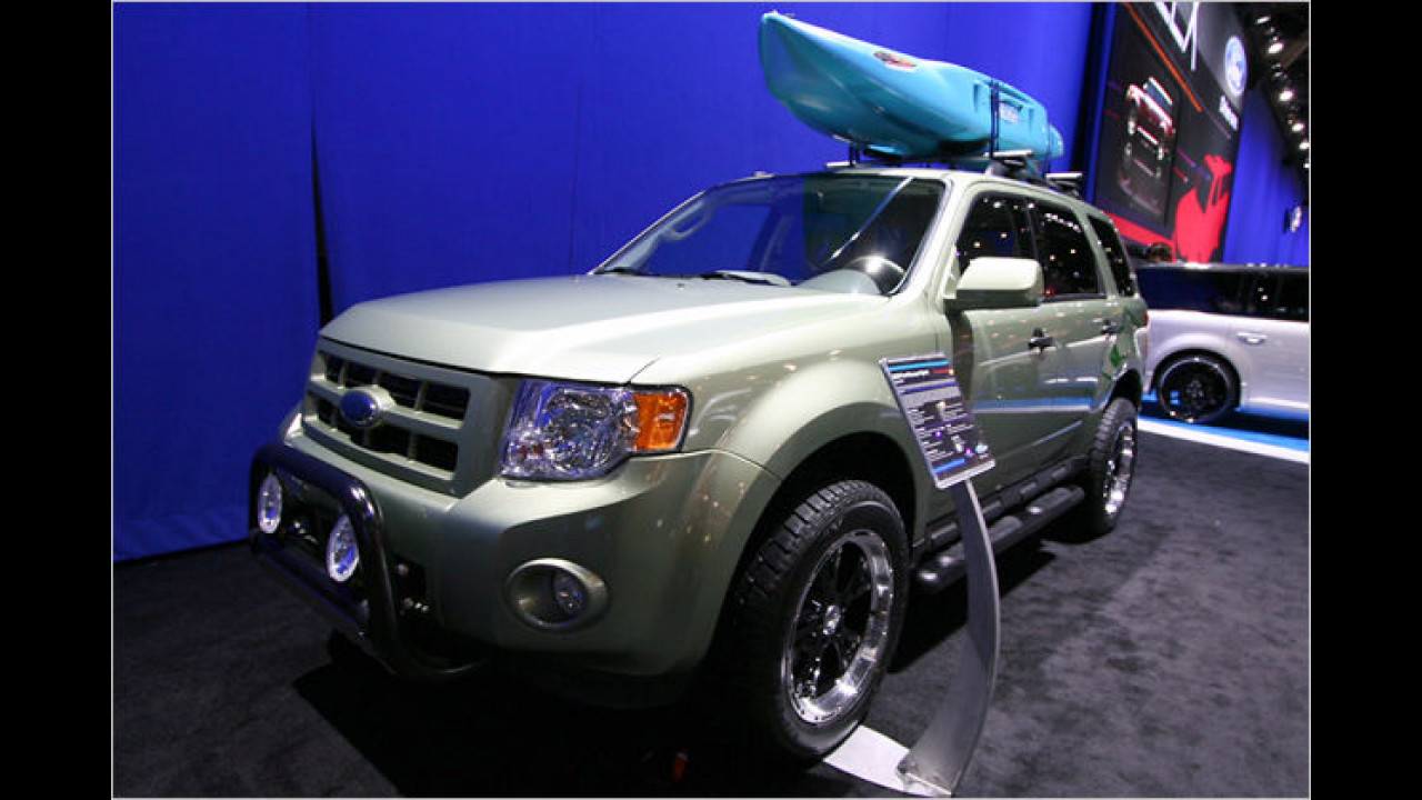 Ford Escape Hybrid by EcoTrek