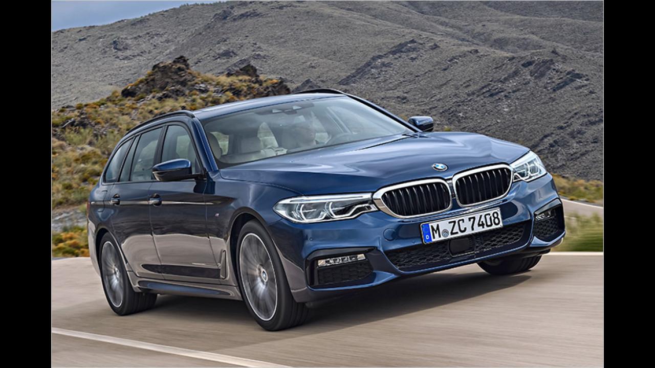 BMW 5er Touring: 4,94 Meter