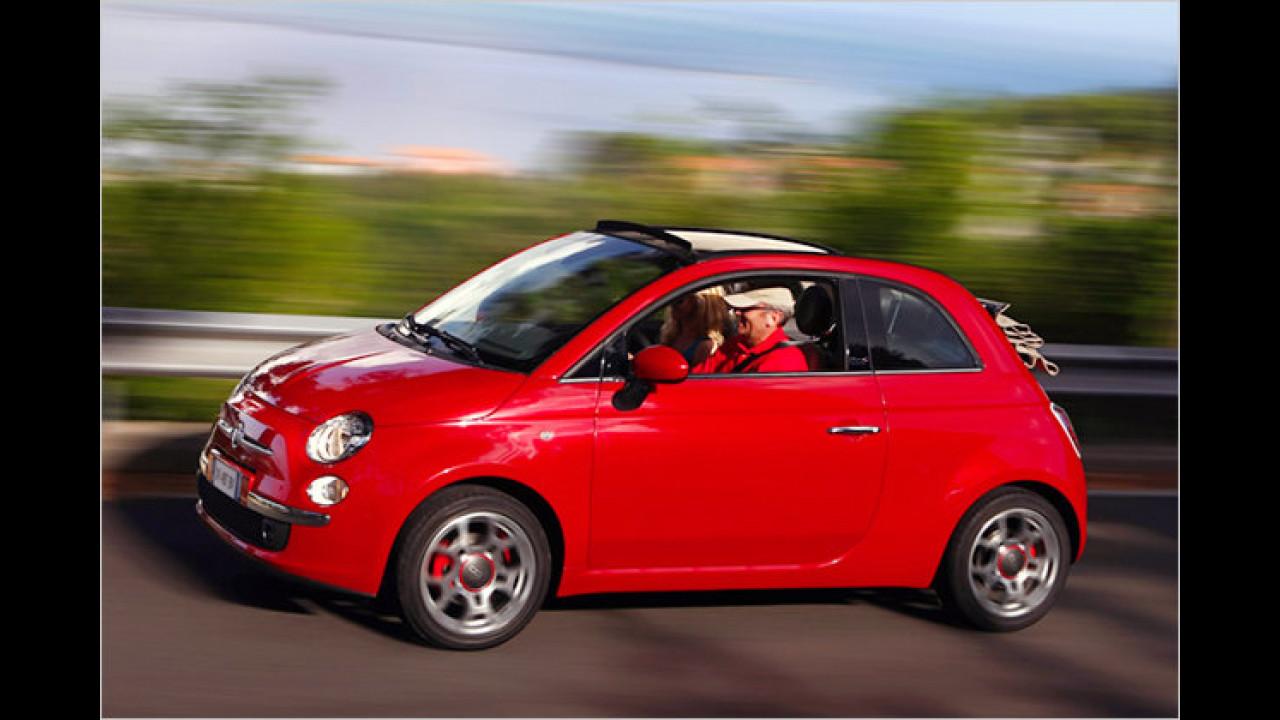Cabrios: Fiat 500C 1.3 JTD Multijet 16V Start&Stopp