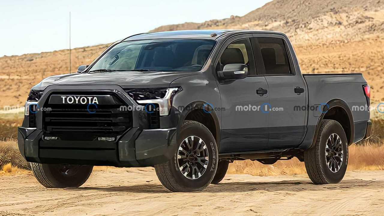 2021 Toyota Tundra Render'ları