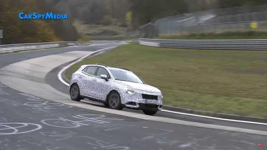 2021 KIA Sportage Nürburgring'i turlarken yakalandı
