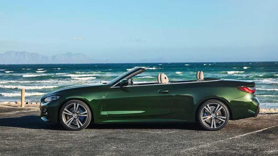 Nuova BMW Serie 4 Cabrio, super doppio rene e tetto in tela