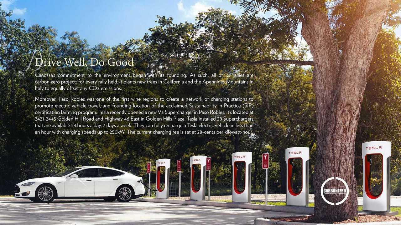 Grand Tour California –Pasa Robles Electric Driving Tour