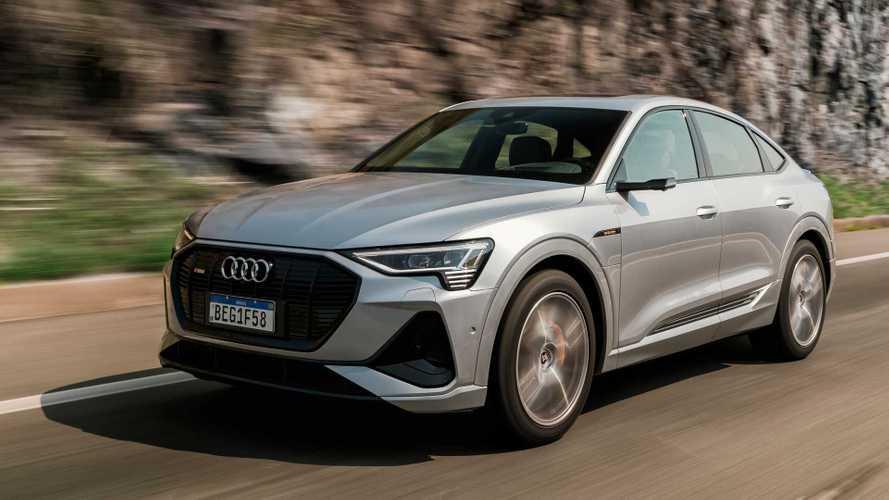 Audi e-tron foi o carro elétrico mais vendido no Brasil em 2020