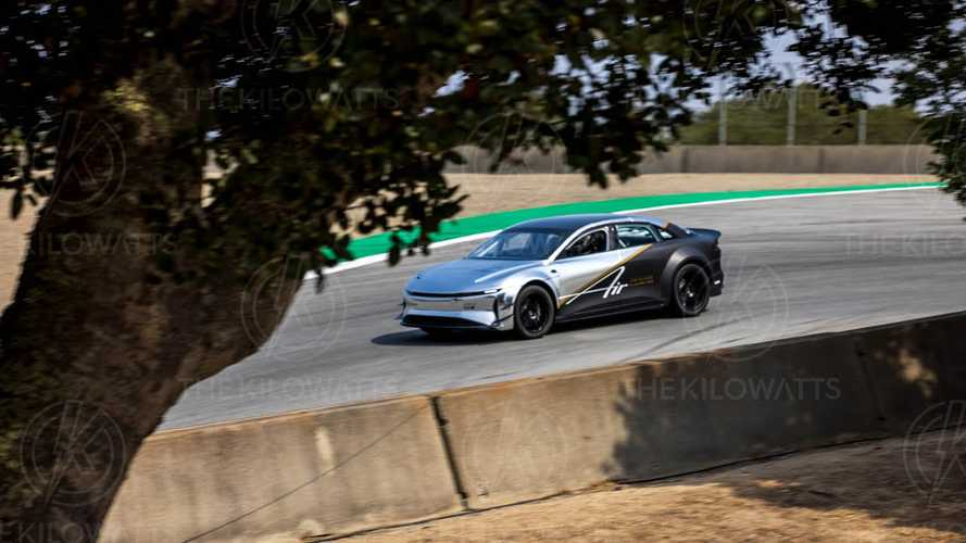 Lucid Air Would Beat Tesla Model S Record At Laguna Seca