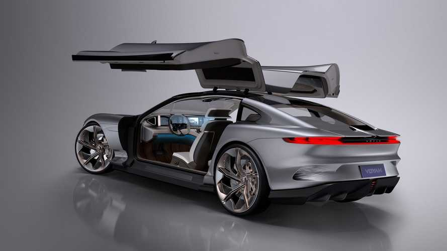 Voyah i-Land Electric Coupe Concept By Italdesign