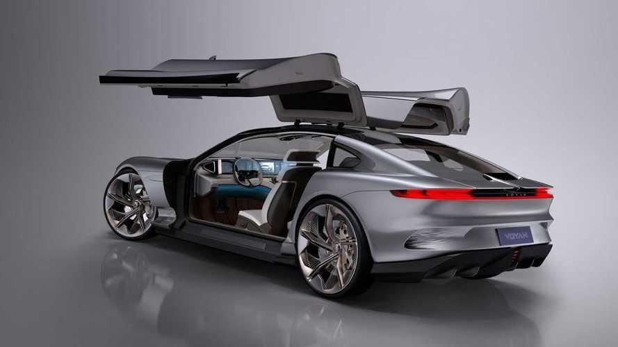 Новый китайский бренд дебютировал с электрическими купе и кроссовером