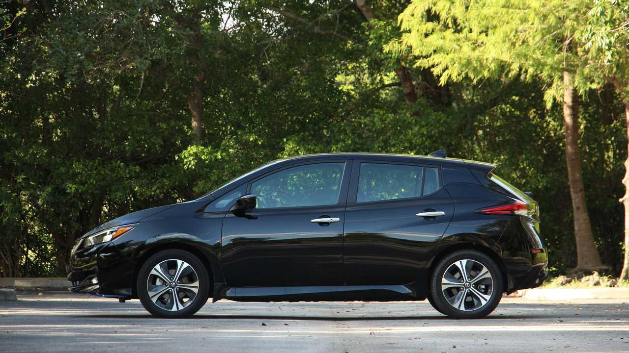 2020 Nissan Leaf SV Plus Exterior