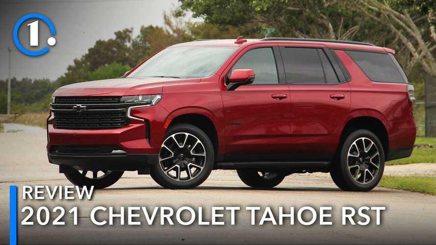 2021 Chevrolet Tahoe RST Review: Sporty Looking