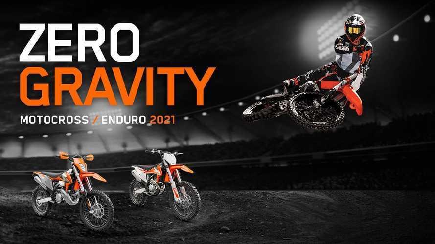 KTM, promozione Zero Gravity sulla gamma offroad 2021
