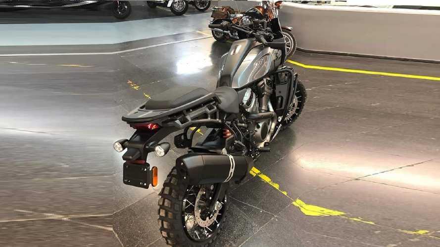 Harley-Davidson Pan America, première photos du modèle de série