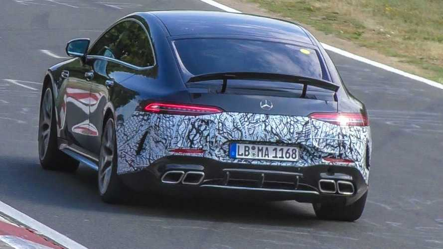 2021 Mercedes-AMG GT73 PHEV Driven Hard On Nurburgring Under Light Camo