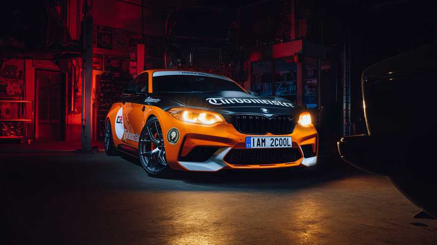 Nagyon komoly lett egy igazi rajongó BMW M2 CSL Turbomeistere