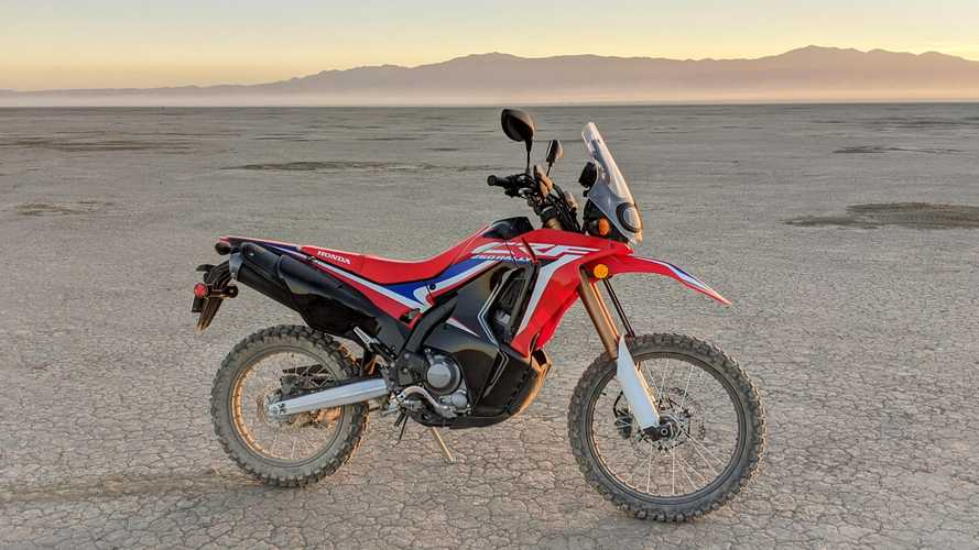 Tackling My Own Private Dakar On The Honda CRF250L Rally