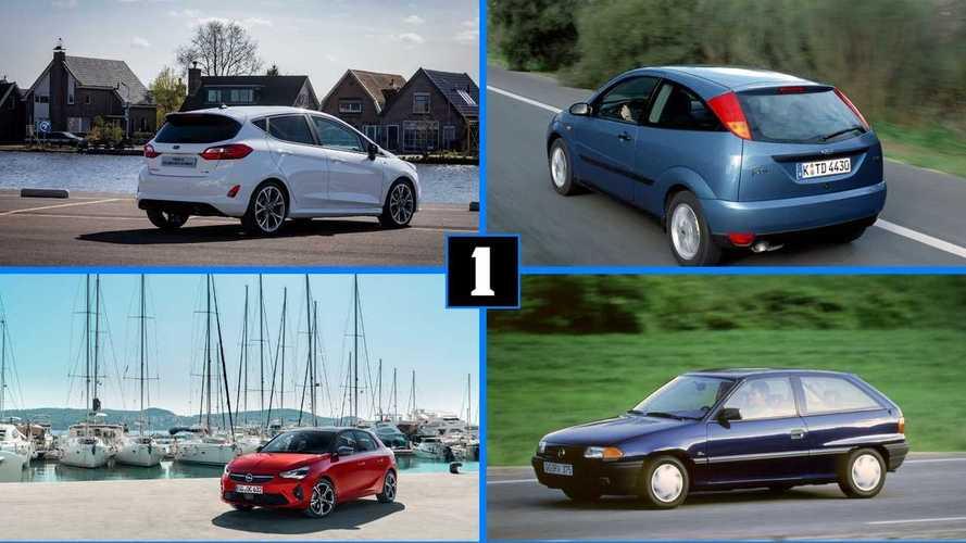 Расти большой: 9 автомобильных пар, иллюстрирующих тренд на гигантизм