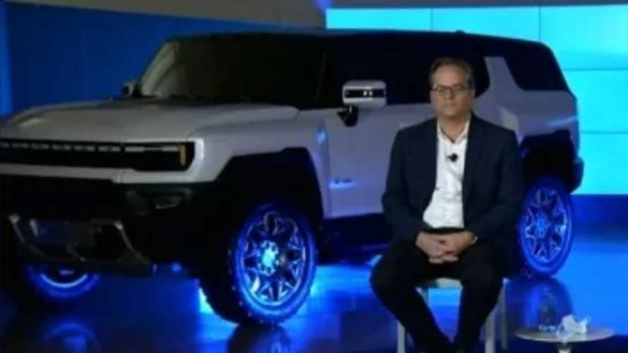 GM Reveals GMC Hummer Electric SUV In Recent Presentation