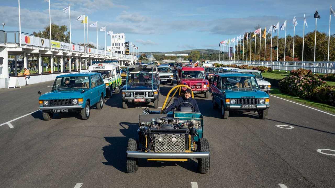 Range Rover 50th anniversary parade