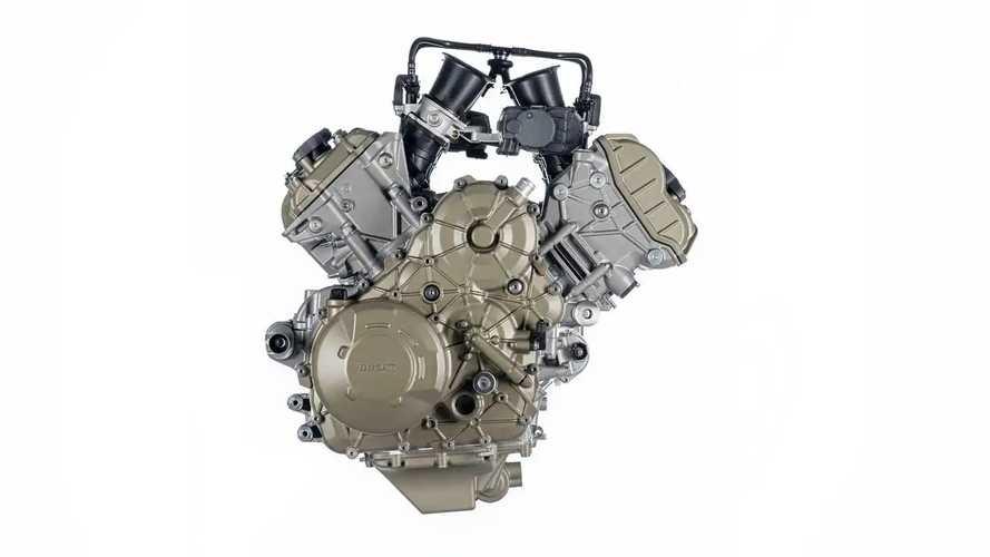 New Ducati V4 Granturismo Engine