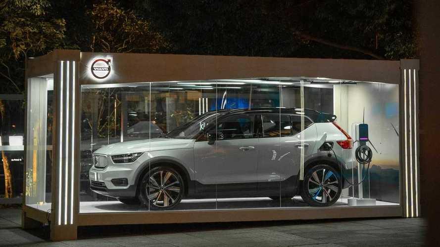 Volvo traz XC40 100% elétrico ao Brasil em exposição localizada em SP